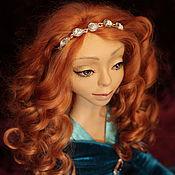 """Куклы и игрушки ручной работы. Ярмарка Мастеров - ручная работа Каркасная кукла """"Рыжий ангел"""". Handmade."""