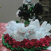 Аксессуары ручной работы. Ярмарка Мастеров - ручная работа Любовь и голуби. Handmade.