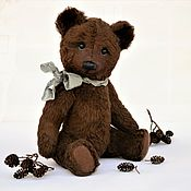 Куклы и игрушки handmade. Livemaster - original item Teddy Bears: Soviet brown bear model 1930-40 years. Handmade.