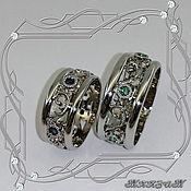 handmade. Livemaster - original item Rings/pair