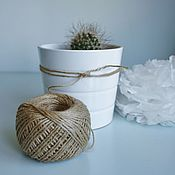 Материалы для творчества handmade. Livemaster - original item Jute yarn Jute Rope. Handmade.