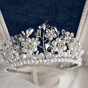 Украшения handmade. Livemaster - original item Bridal tiara. Handmade.
