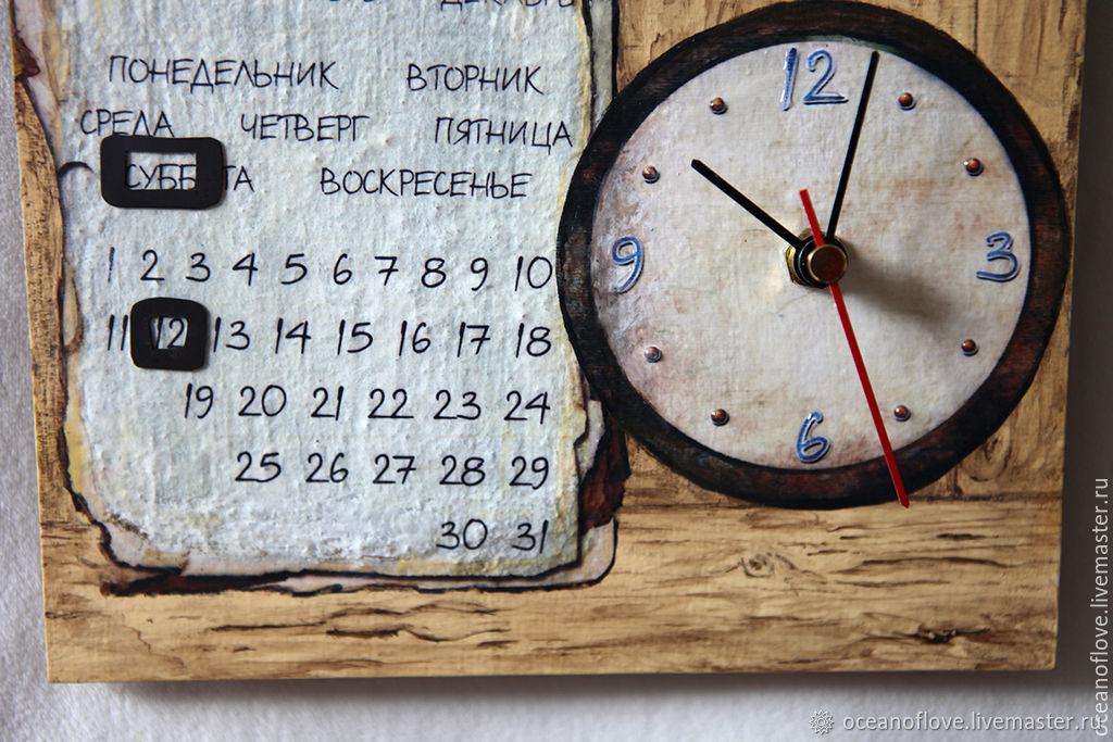Картинки календарь часы