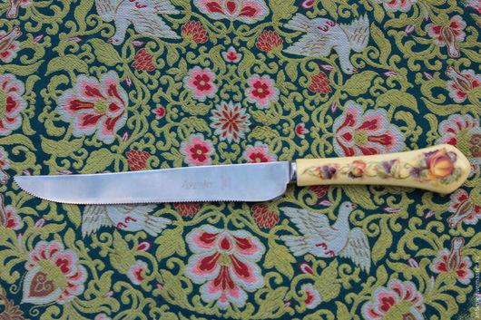 Винтажная посуда. Ярмарка Мастеров - ручная работа. Купить Большой нож,Aynsley, Англия. Handmade. Нож, сервировка стола, керамика