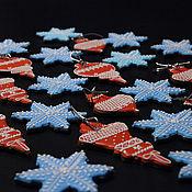 Набор пряников ручной работы. Ярмарка Мастеров - ручная работа Новогодние пряничные наборы. Handmade.