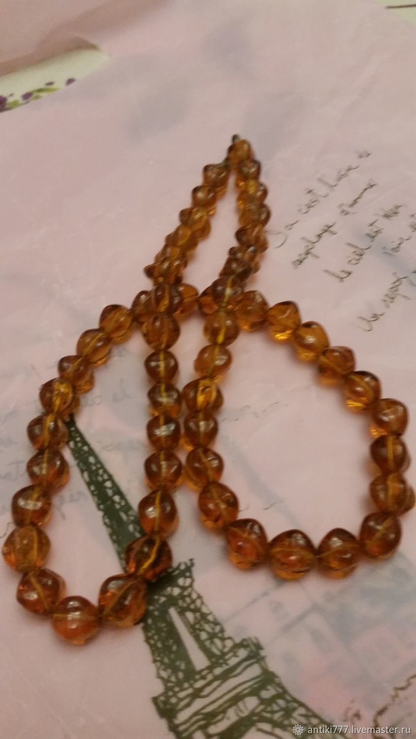 Vintage beads, Vintage necklace, Moscow,  Фото №1