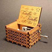 Музыкальные инструменты handmade. Livemaster - original item Music box Twinkle Twinkle little star lullaby. Handmade.
