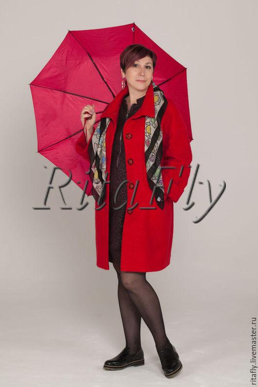 женское пальто кокон, короткое пальто оверсайз,
