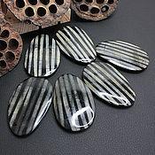 handmade. Livemaster - original item Beads-Connectors Water Buffalo Horn Free Oval 68h42mm. Handmade.
