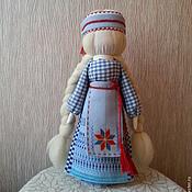 """Куклы и игрушки ручной работы. Ярмарка Мастеров - ручная работа Кукла-оберег """"Встреча звездной половинки""""(продано). Handmade."""