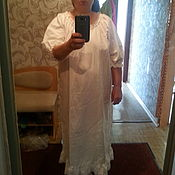 Одежда handmade. Livemaster - original item Bottom linen dress. Handmade.