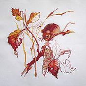 Картины ручной работы. Ярмарка Мастеров - ручная работа Осенняя пора. Handmade.