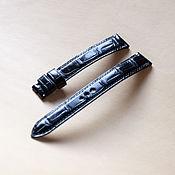 Украшения handmade. Livemaster - original item Watch strap crocodile. Handmade.