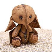 Куклы и игрушки ручной работы. Ярмарка Мастеров - ручная работа Чердачный слоник 2..). Handmade.