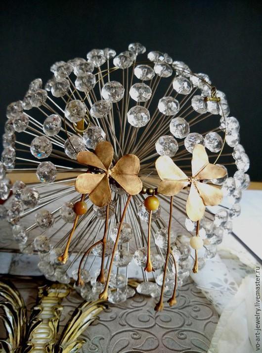 """Колье, бусы ручной работы. Ярмарка Мастеров - ручная работа. Купить ожерелье """"Кислица"""". Handmade. Коричневый, подарок, бусины агата"""