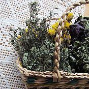Для дома и интерьера ручной работы. Ярмарка Мастеров - ручная работа Корзинка с пряными травами. Handmade.