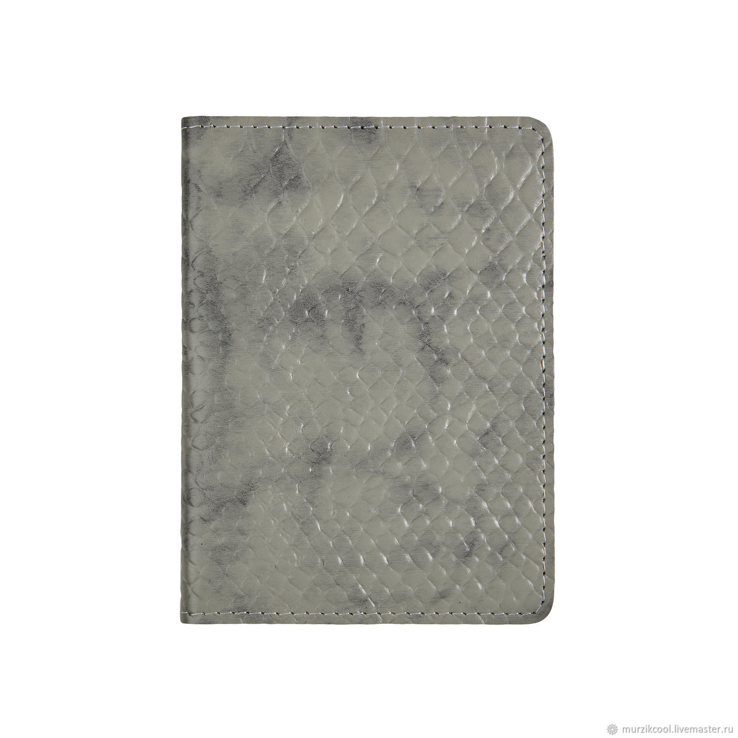 Passport cover 'Euro' Grey Python, Passport cover, Moscow,  Фото №1