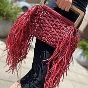 Сумки и аксессуары handmade. Livemaster - original item Wicker shopping bag. Handmade.