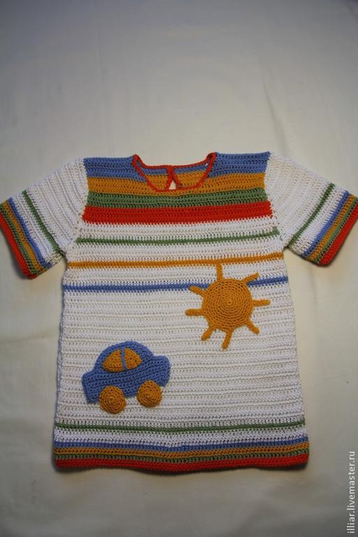 Одежда для мальчиков, ручной работы. Ярмарка Мастеров - ручная работа. Купить Футболка на мальчика. Handmade. Серый, легкая, 100% хлопок