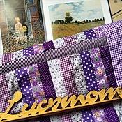 """Одеяла ручной работы. Ярмарка Мастеров - ручная работа Лоскутное покрывало-одеяло для девочки """"Прованс"""". Handmade."""