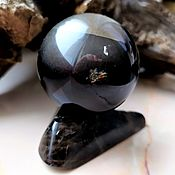 Фен-шуй и эзотерика handmade. Livemaster - original item Morion ball with smoky quartz, 48 mm. Handmade.