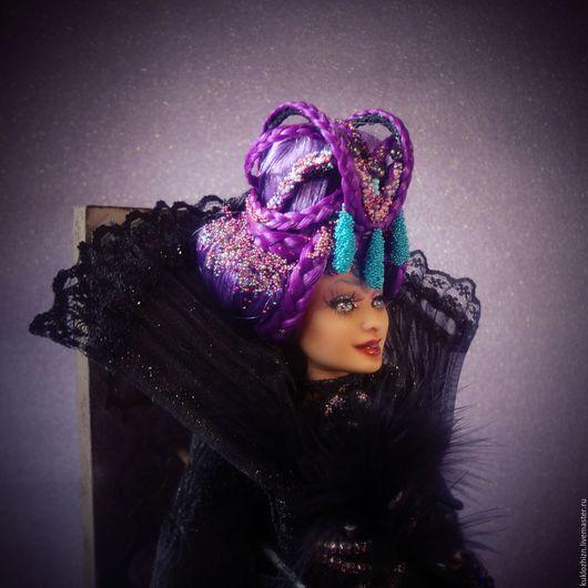 Коллекционные куклы ручной работы. Ярмарка Мастеров - ручная работа. Купить ООАК BARBIE. Ваше Высочество.. Handmade. Фиолетовый