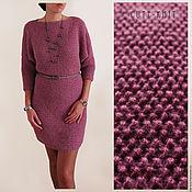 Dresses handmade. Livemaster - original item Knitted mohair dress