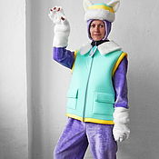 "Одежда handmade. Livemaster - original item Everest ""PAW Patrol"". Animator-actor suit. Handmade."