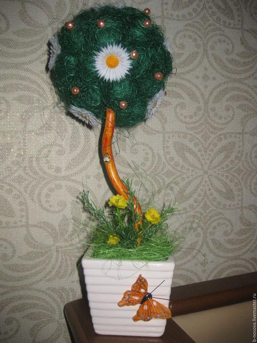 Персональные подарки ручной работы. Ярмарка Мастеров - ручная работа. Купить топиарий весенний. Handmade. Комбинированный, подарок
