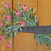 Для дома и интерьера handmade. Livemaster - original item Painting.Carpathian bouquet. Handmade.