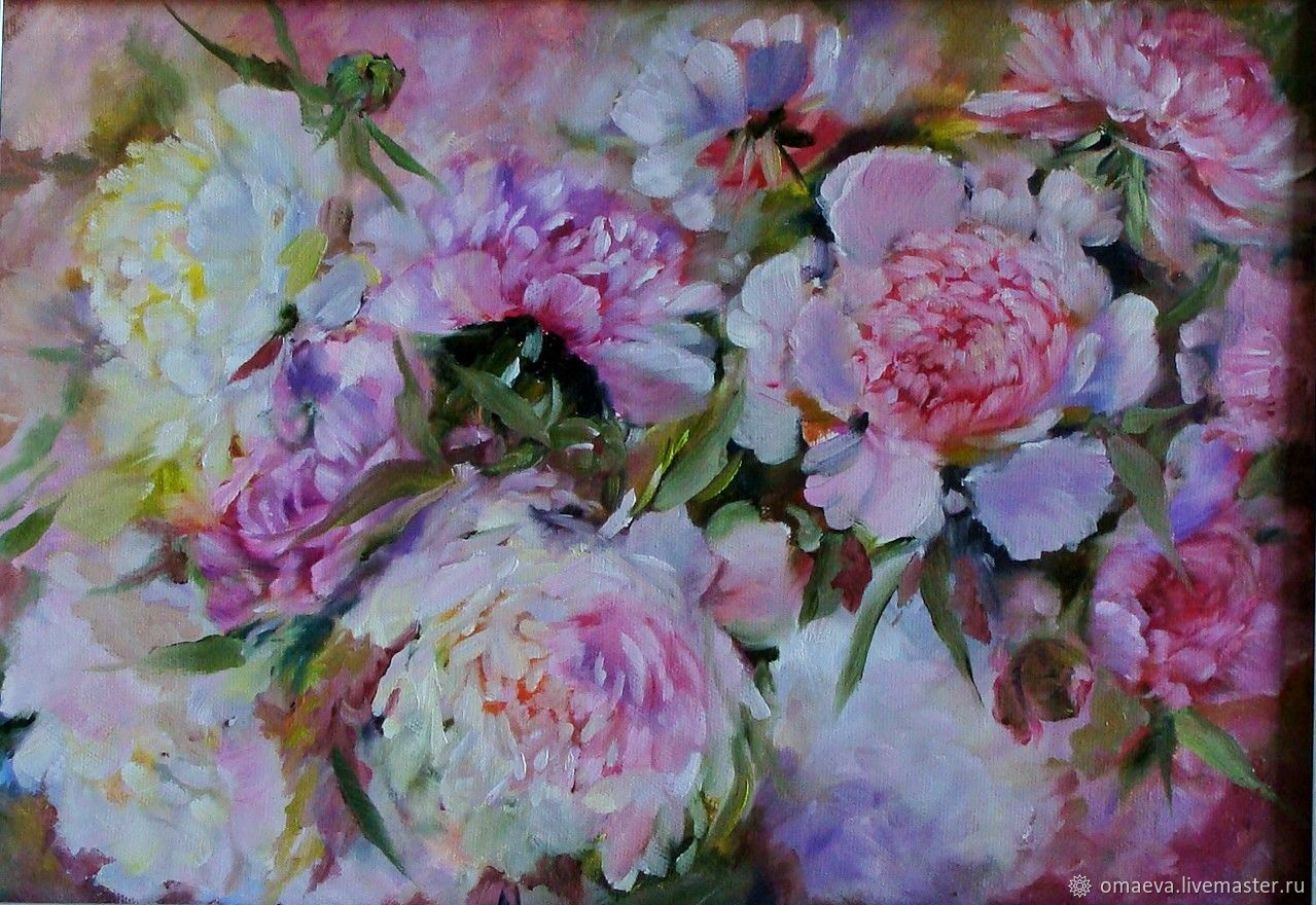 Picture;Peony aroma of happiness'!oil on canvas, Pictures, Nizhny Novgorod,  Фото №1