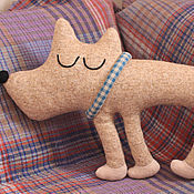 Для дома и интерьера handmade. Livemaster - original item Interior soft toy Sleeping Dog. Handmade.