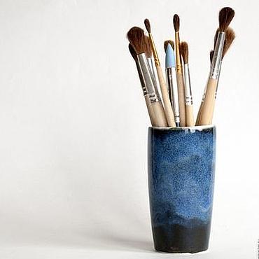 """Посуда ручной работы. Ярмарка Мастеров - ручная работа Стаканчик """"Звездная пыль"""". Handmade."""