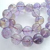 Материалы для творчества handmade. Livemaster - original item Natural ametrine faceted beads beads 14mm. Handmade.
