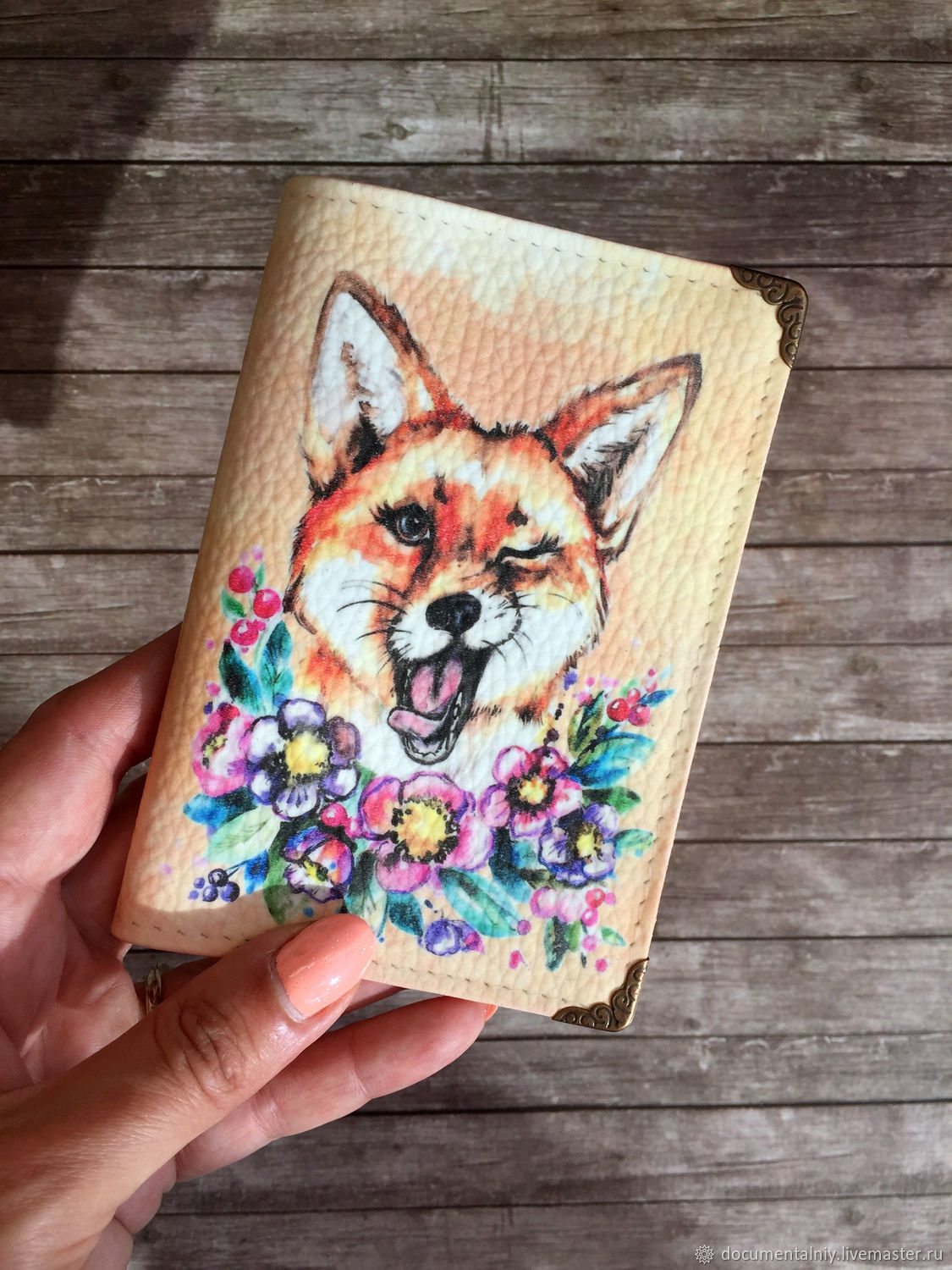 The Cover Of 'The Fox', Passport cover, Obninsk,  Фото №1
