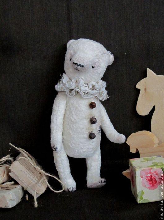 Мишки Тедди ручной работы. Ярмарка Мастеров - ручная работа. Купить Мишка тедди Комедиант. Handmade. Бежевый, мишки, теддик