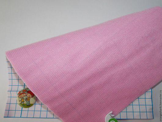 Другие виды рукоделия ручной работы. Ярмарка Мастеров - ручная работа. Купить Велкроткань клеевая Розовая. Handmade. Розовый, велкро