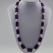 Украшения handmade. Livemaster - original item A necklace of pearls and jade
