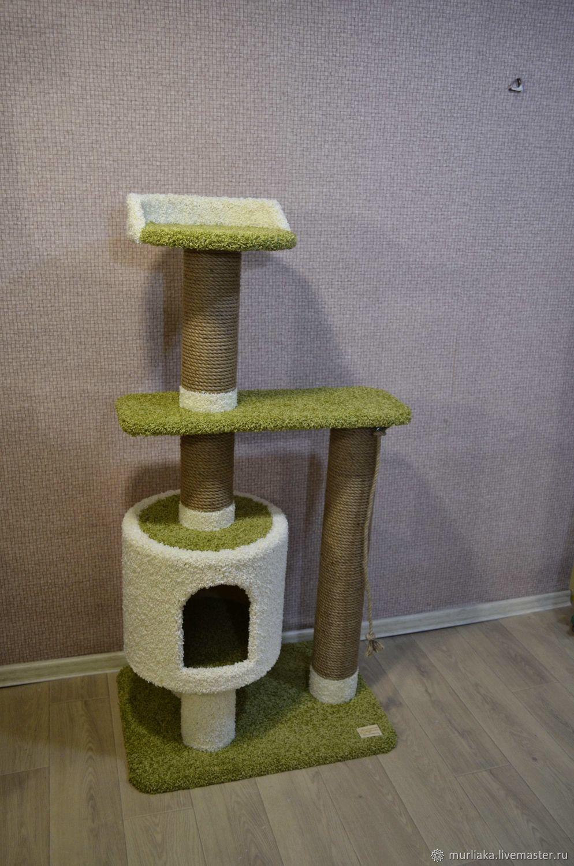 Когтеточка домик для кошки, Когтеточки, Каменск-Уральский,  Фото №1