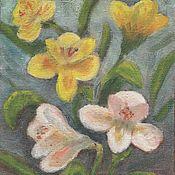 Картины ручной работы. Ярмарка Мастеров - ручная работа Нежная весна. Handmade.