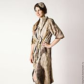 """Одежда ручной работы. Ярмарка Мастеров - ручная работа Пальто """"Larisa"""". Handmade."""