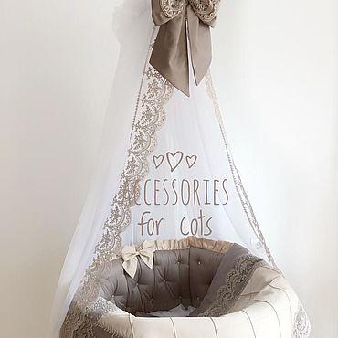 Works for children handmade. Livemaster - original item Bumpers in the crib. Handmade.