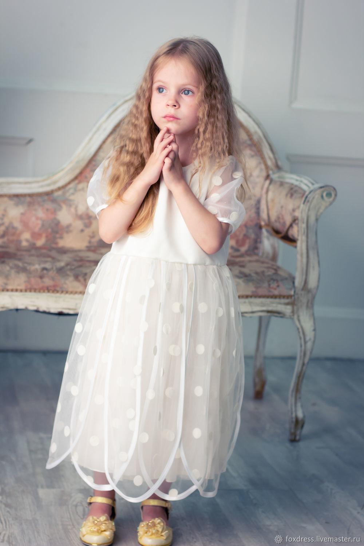 """Одежда для девочек, ручной работы. Ярмарка Мастеров - ручная работа. Купить Платье """"РОМАШКА"""". Handmade. Детское платье, платье на праздник"""