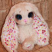 Куклы и игрушки ручной работы. Ярмарка Мастеров - ручная работа Зайка Цветочек. Handmade.