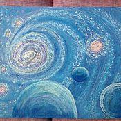 Картины и панно handmade. Livemaster - original item Universe.Star vortex.. Handmade.
