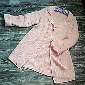 Одежда ручной работы. Ярмарка Мастеров - ручная работа Летнее вязаное пальто. Handmade.