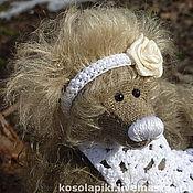Куклы и игрушки ручной работы. Ярмарка Мастеров - ручная работа Маленькая медведица Соня. Handmade.