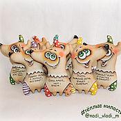 Куклы и игрушки ручной работы. Ярмарка Мастеров - ручная работа Собаки - улыбаки. Handmade.