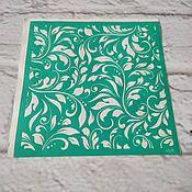 Материалы для творчества handmade. Livemaster - original item Stencil adhesive reusable 6875. Handmade.