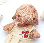 Куклы и игрушки ручной работы. Ярмарка Мастеров - ручная работа Карманная слоня. Handmade.